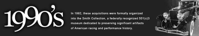 Speedway Motors - 1990's History