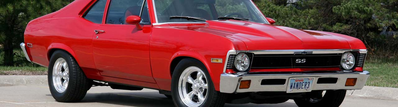 Chevy Nova Parts - Free Shipping @ Speedway Motors
