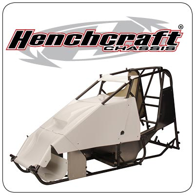 Henchcraft Lightning Sprint Car Logo