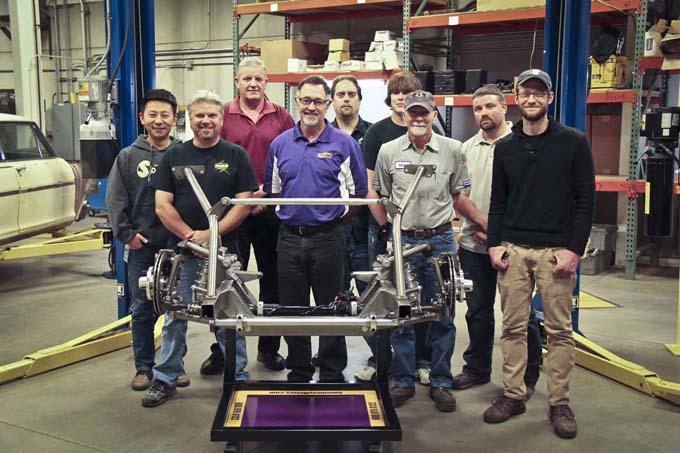 Speedway Motors Engineering Team