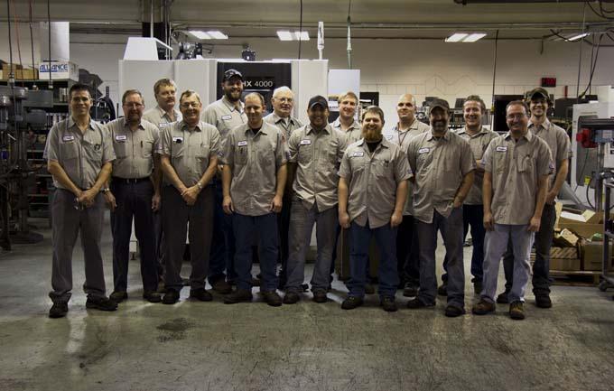 Speedway Motors Machine Shop Team