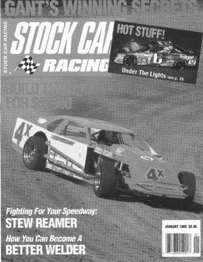 Speedways 4x On the Cover of Stock Car Magazine