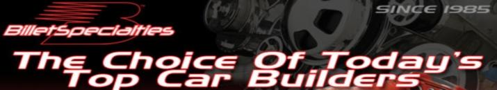 Shop Billet Specialties products At Speedway Motors