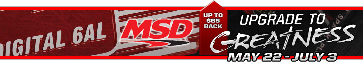 Shop MSD At Speedway Motors