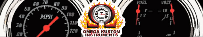 Shop Omega Kustom Instruments At Speedway Motors