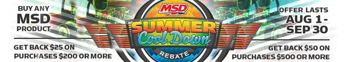 Shop MSD At Speedway Motors