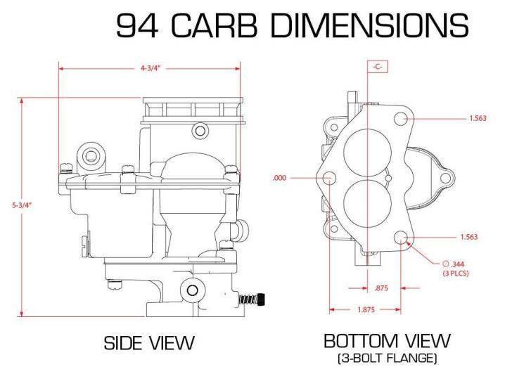 on Edelbrock 1406 Vacuum Diagram