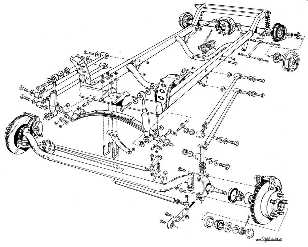 peterbilt axle diagram