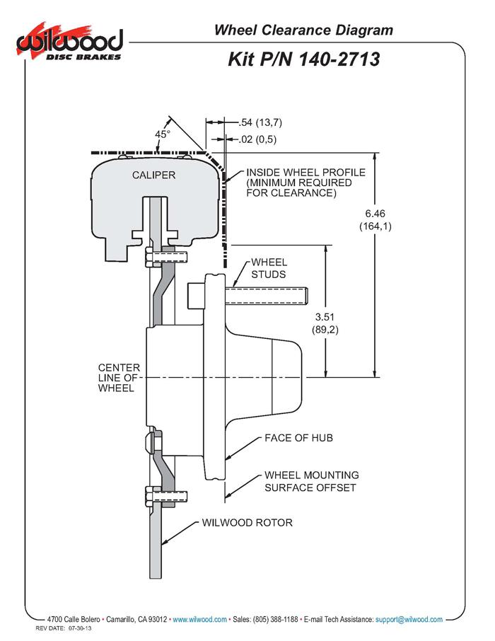 wilwood 140-2713-bd fdl front drag disc brake kit, 65-72 ... plymouth brakes diagram renault brakes diagram #9