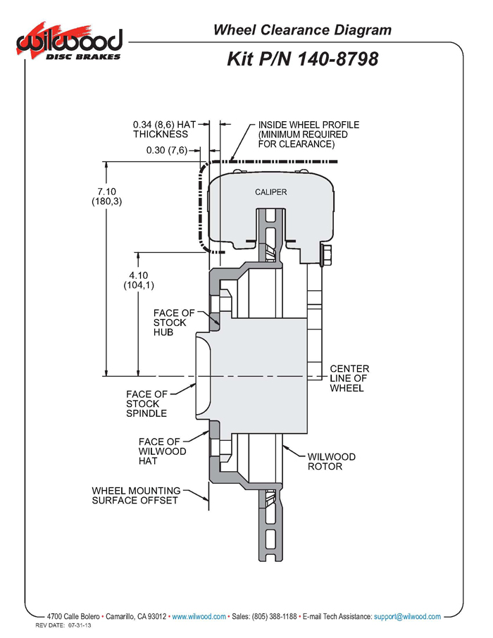 wilwood master cylinder instructions