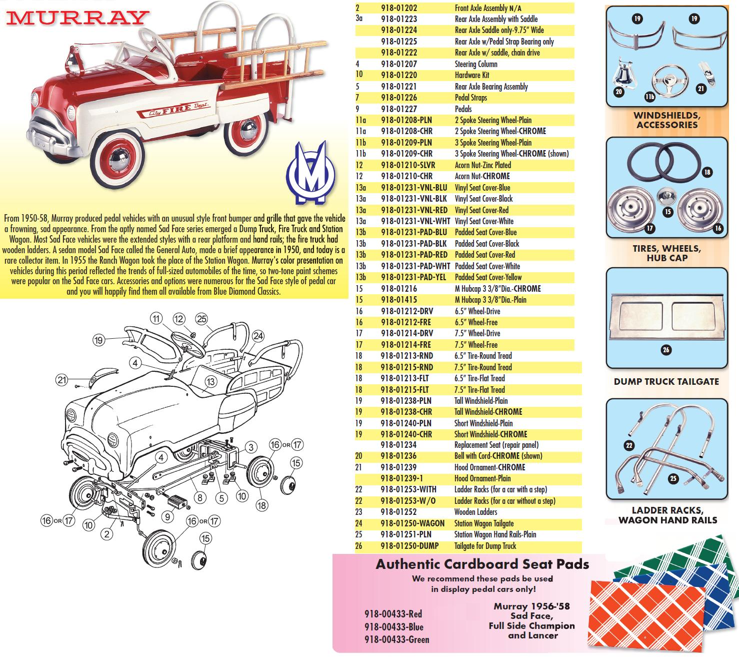 Pedal Car Parts 7 1 2 Inch Tire Murray Select Wiring Diagram Exploded For Sad Face