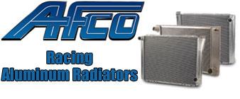 Shop AFCO Racing Aluminum Radiators At Speedway Motors
