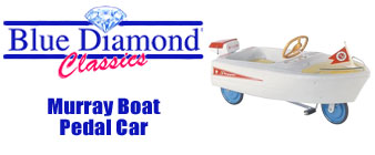 Shop Blue Diamond Murray Boat Pedal Cars At Speedway Motors