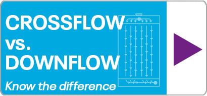 Crossflow vs Downflow