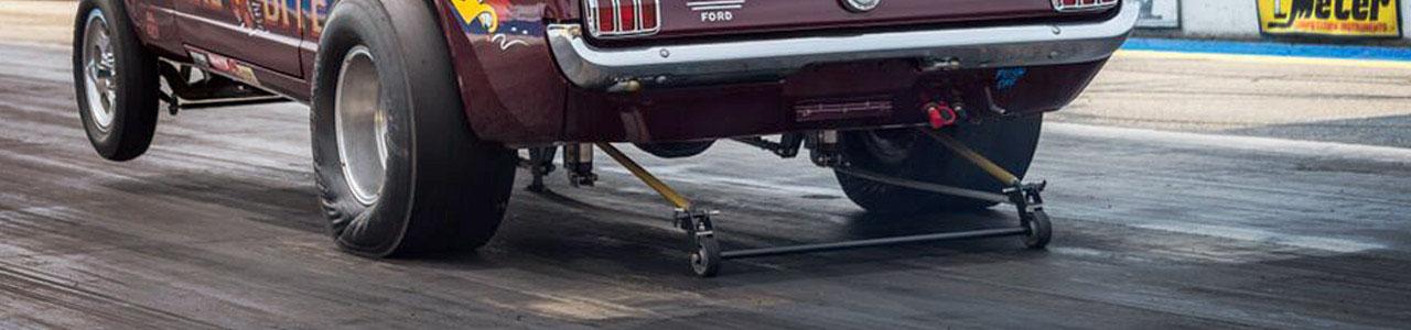 Drag Racing Car Banner