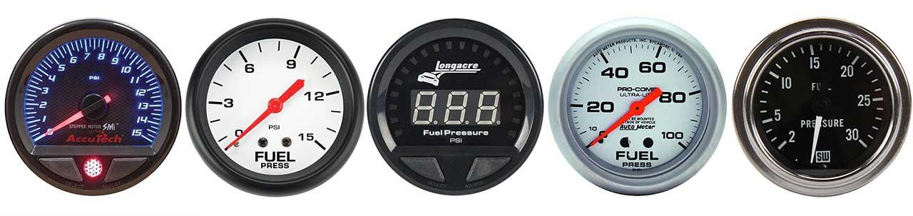 Fuel Pressure Gauges Banner