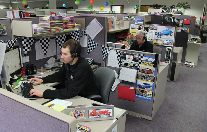 Knowledgeable Race and Street Rod Tech Staff