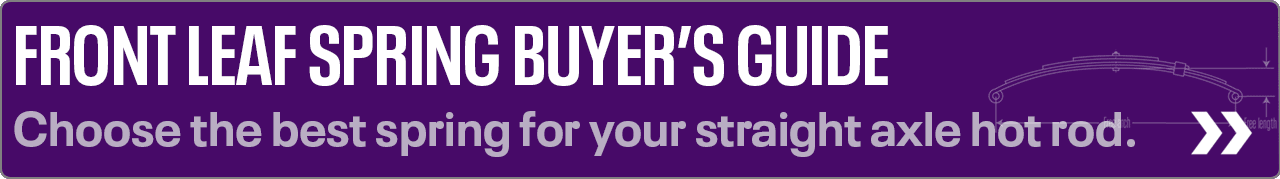 Front Leaf Spring Buyers Guide
