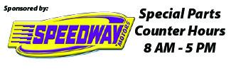 Speedway Motors Counter Hours