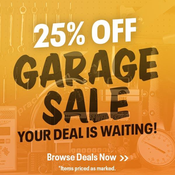 25% Off Garage Sale