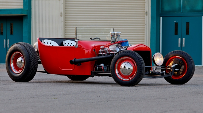 Hot Rod Magazine Tribute T Feature Car
